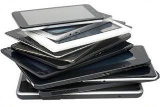 pile of tablets