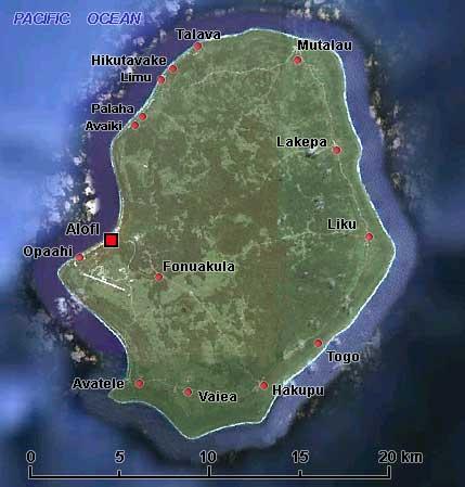 Власти острова Ниуэ через суд пытаются вернуть себе контроль над национальным доменом