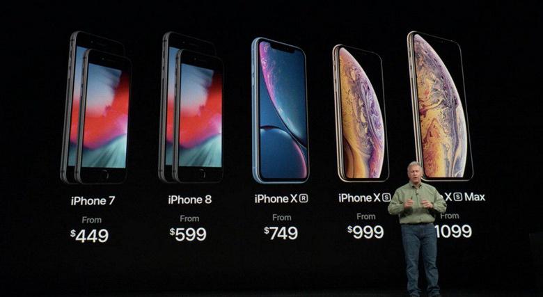Apple представил три новых iPhone