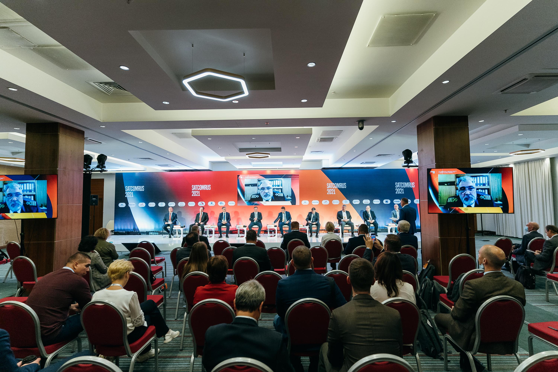 Будущее спутниковой отрасли обсудили на конференцииSATCOMRUS-2021