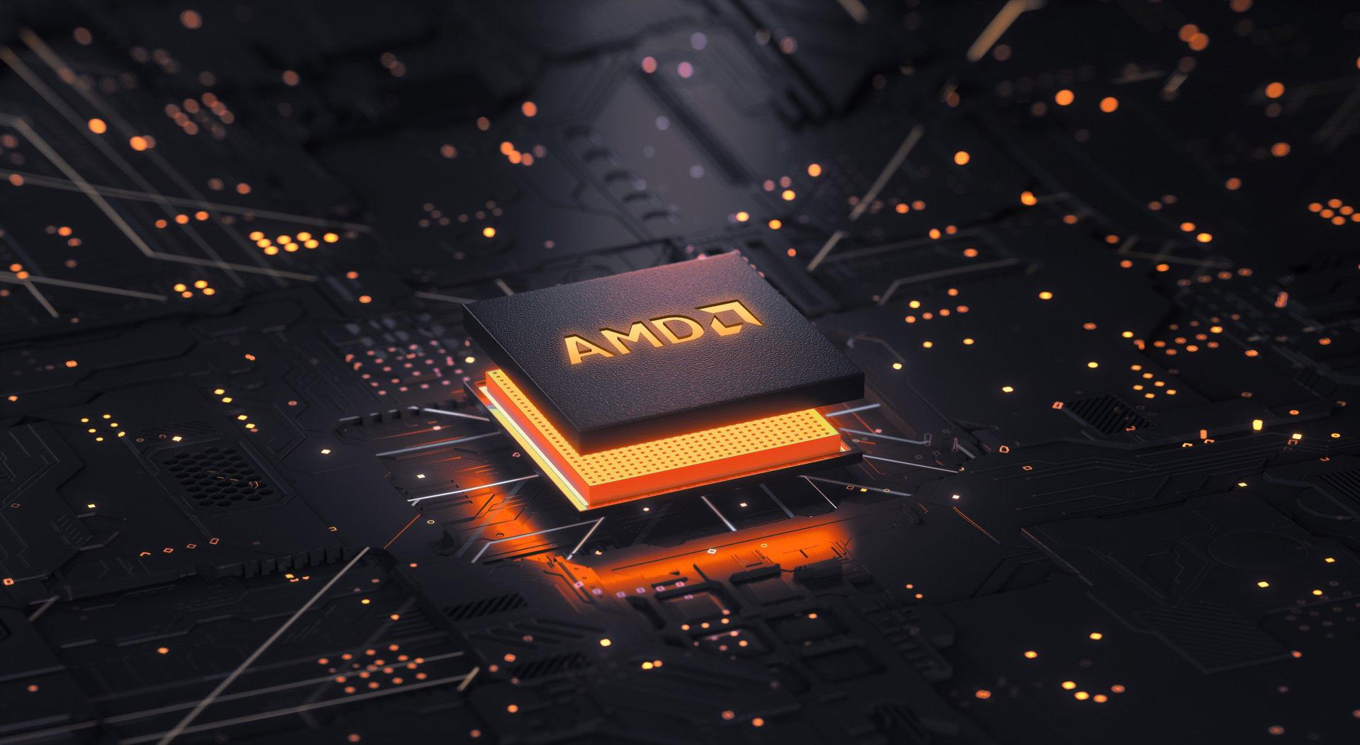 Прибыль AMD растет, несмотря на COVID