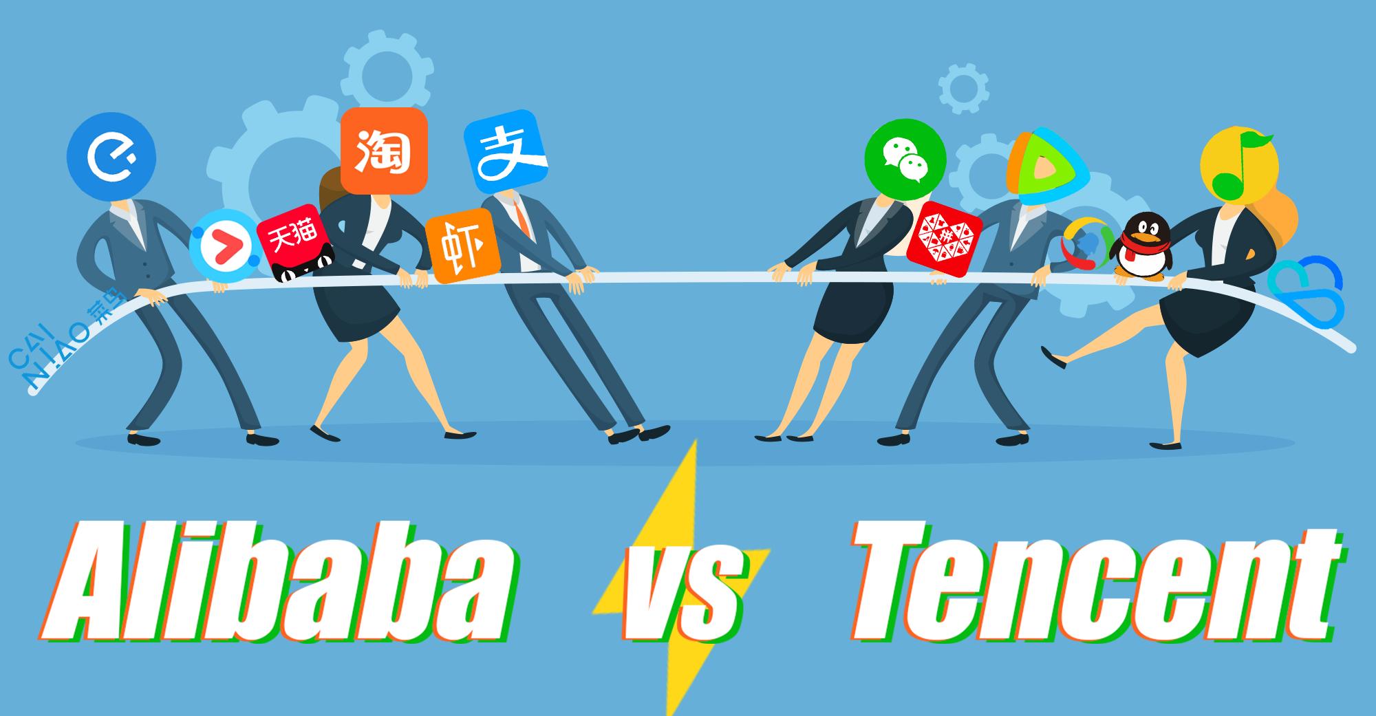 Власти Китая потребовали отAlibaba иTencent перестать блокировать сайты друг друга