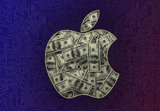 Доход Apple за последний квартал превысил девяносто миллиардов