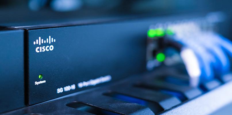 Выручка Cisco снижается пятый квартал подряд