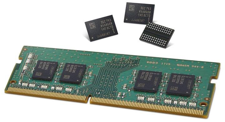 Поставщики памяти DRAM разрешили проблемы технологического процесса 1x nm