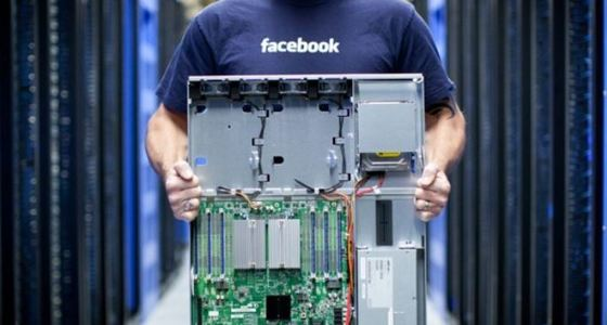 Поставки серверов на фермы Facebook закономерно растут