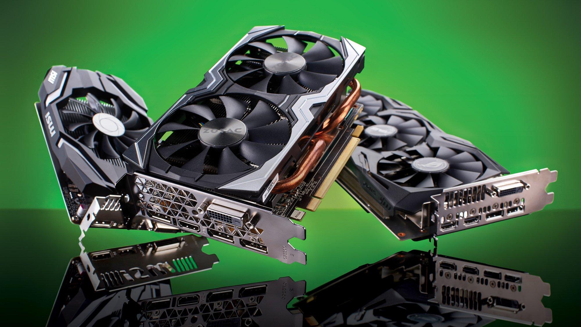 Продажи графических чипов растут. AMD и Nvidia выигрывают от потерь Intel