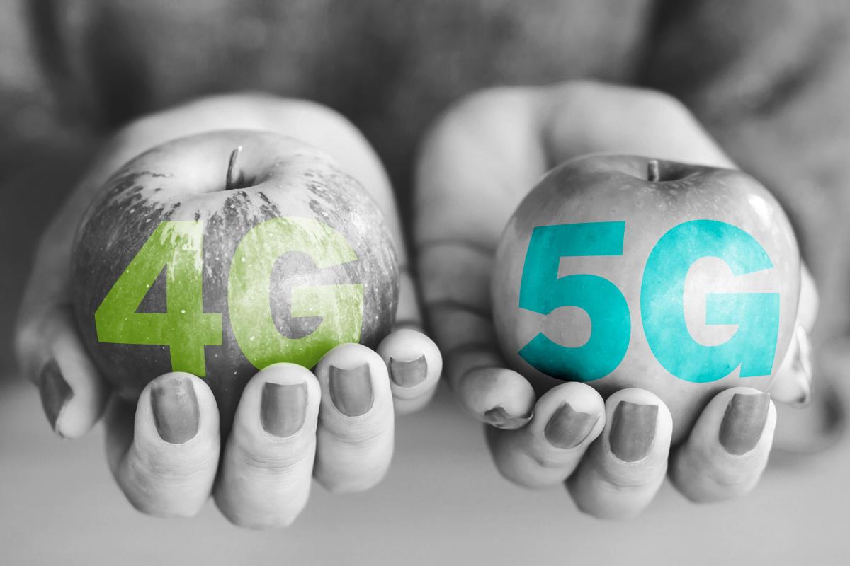 Низкочастотные коммерческие сети 5G могут обеспечивать меньшие скорости, чем сети 4G