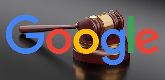 Google впервые подала иск кроссийским властям