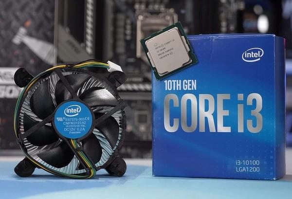 Intel выпустила новый дешевый процессор Core i3-10100F десятого поколения