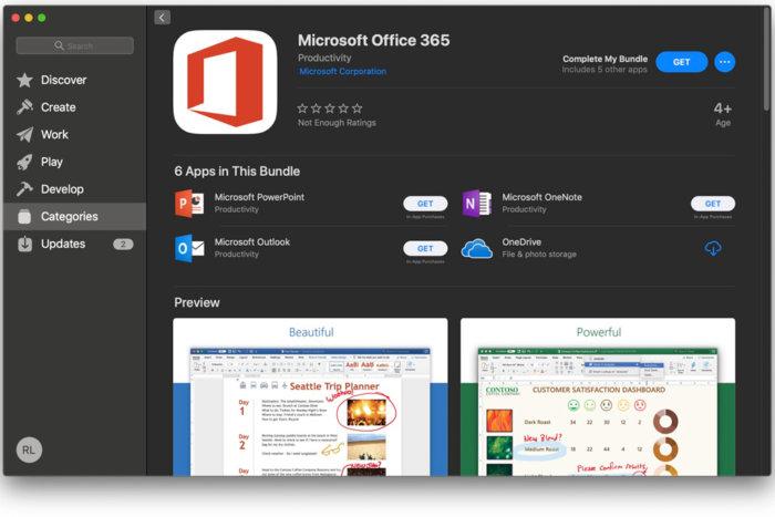 Microsoft представляет приложения Office для Mac с процессорами M1
