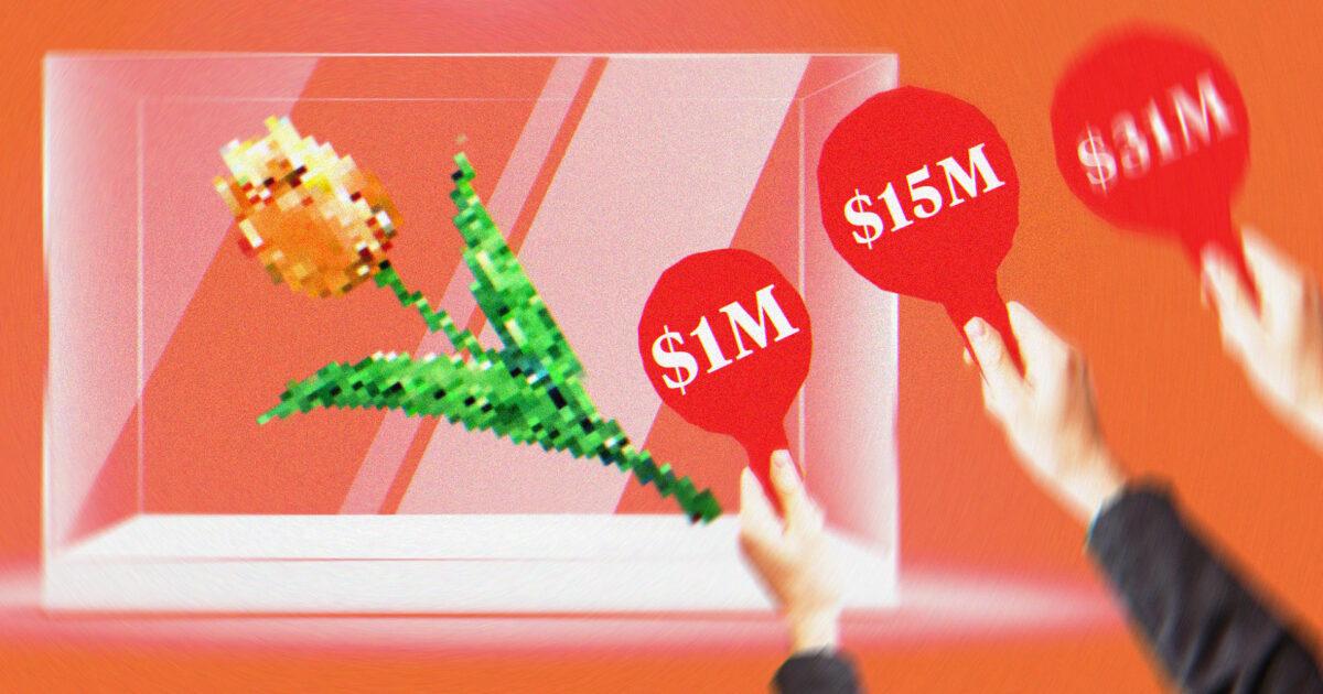 В первой половине 2021 года продажи NFT выросли до 2,5 миллиардов долларов