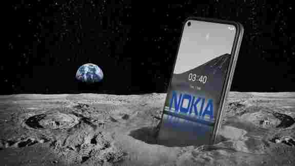Nokia запустит на Луне сеть 4G