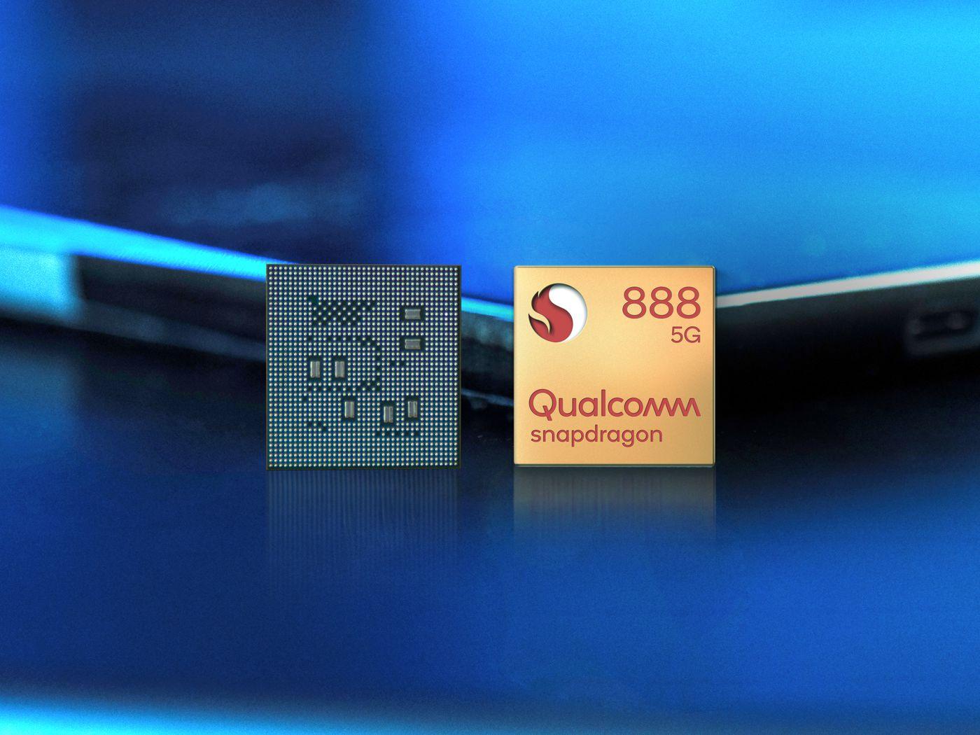 Qualcomm представляет Snapdragon 888 5G
