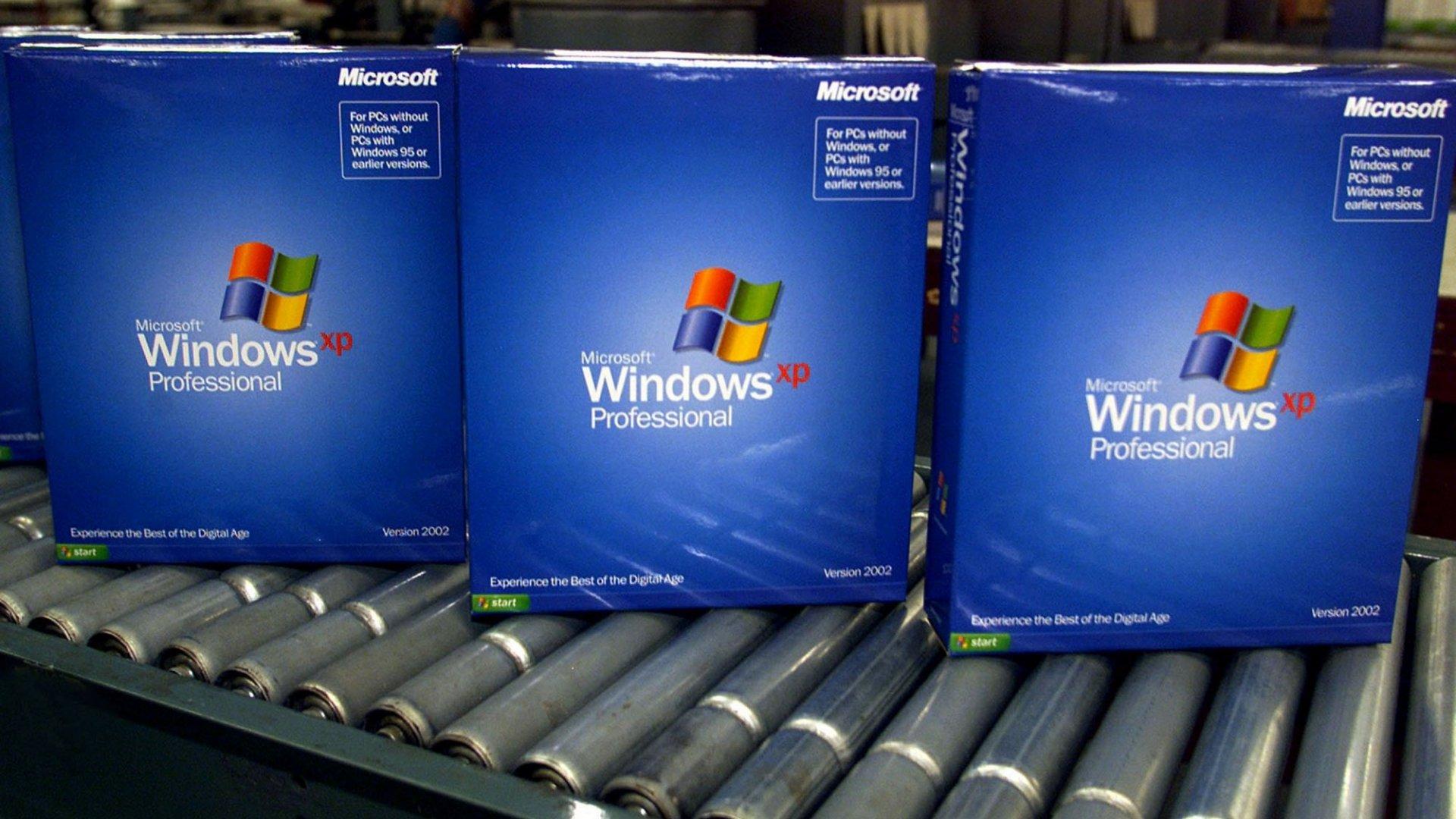 Под управлением Windows XP все еще работают 25,2 млн компьютеров
