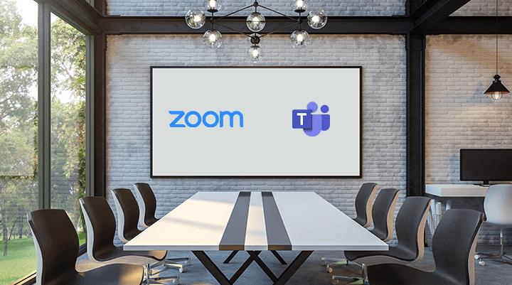 Zoom опережает по количеству пользователей Microsoft Teams благодаря бесплатному предложению