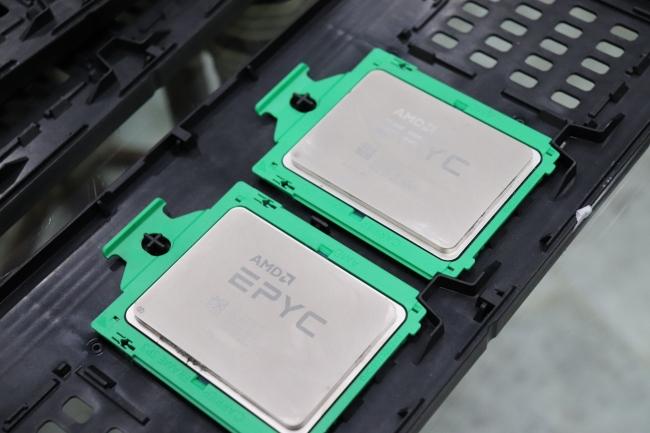 AMD уверенно продвигается с EPYC на серверном рынке