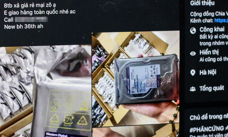 Майнеры Chia распродают бывшие в использовании жесткие диски