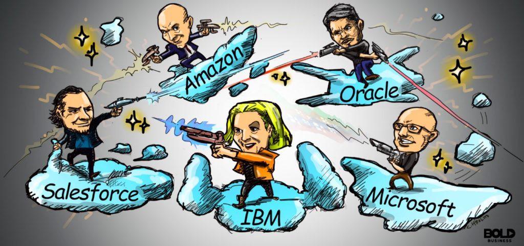 Microsoft и Oracle объявили о партнерстве, чтобы противостоять Amazon Web Services