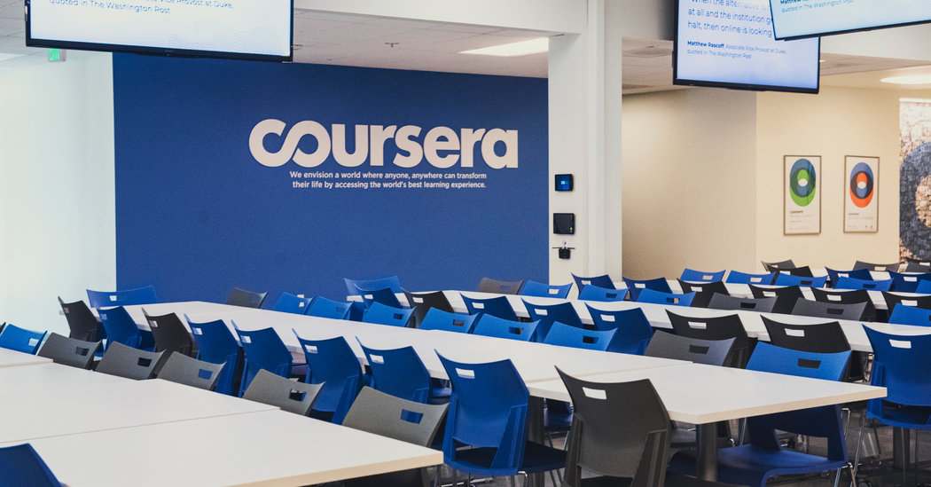 Coursera готовится к IPO