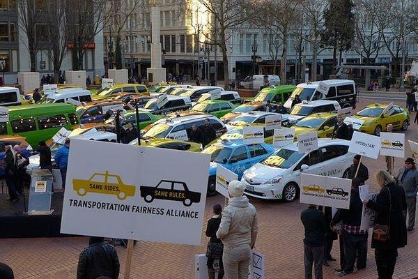 Суд Брюсселя запретил Uber