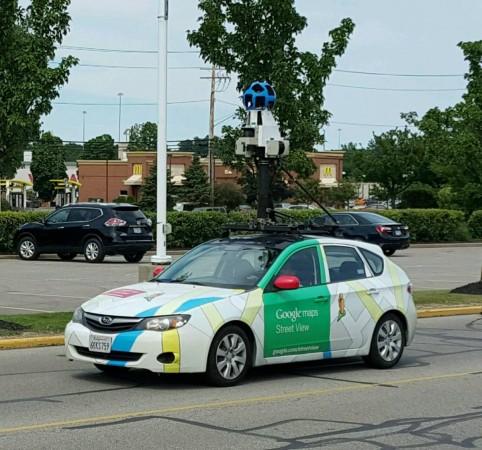 Машины Google будут оценивать качество воздуха в крупных городах