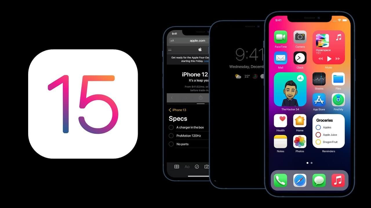 Apple выпустила публичную бета-версию iOS 15