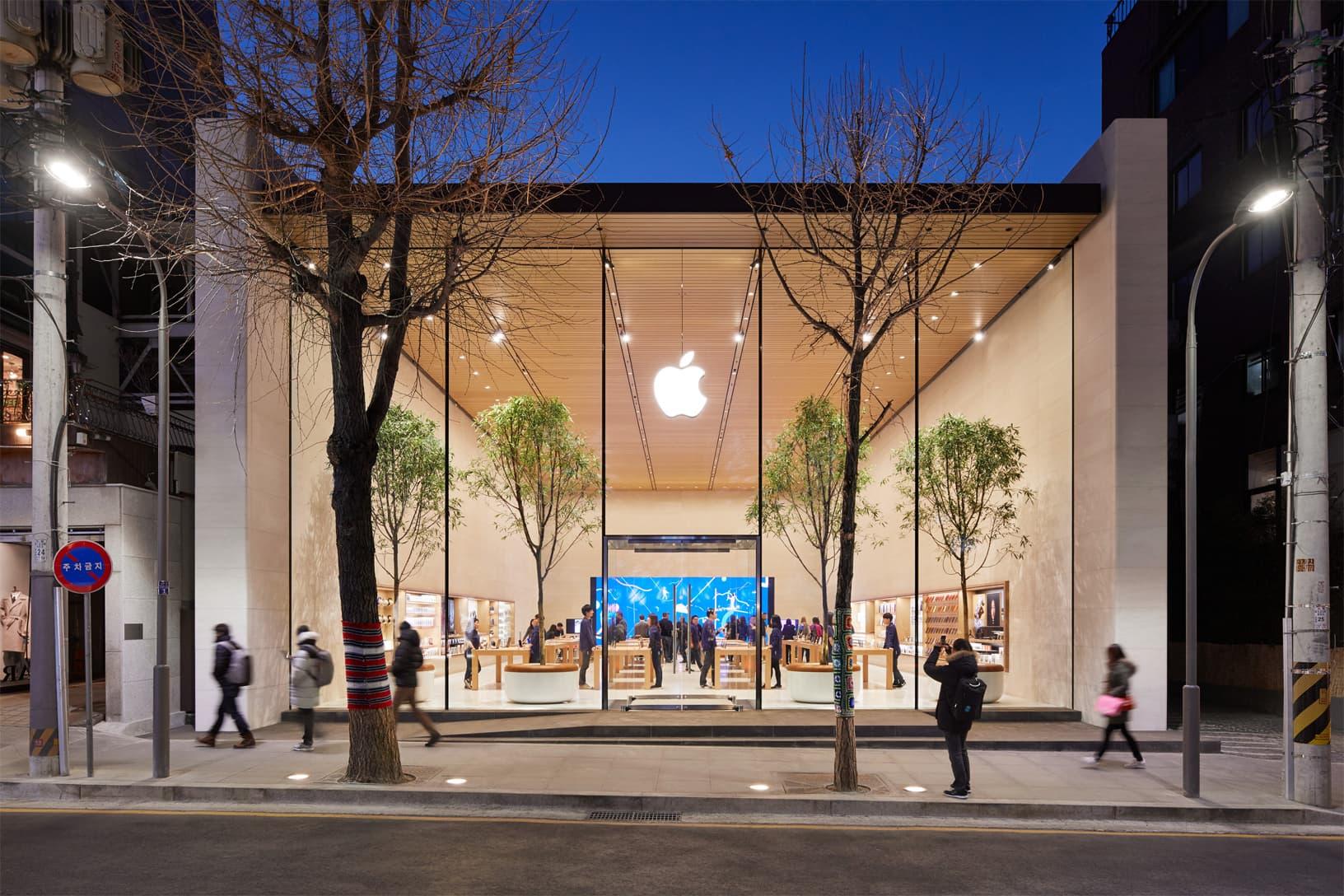 Apple возобновляет работу единственного магазина вЮжной Корее