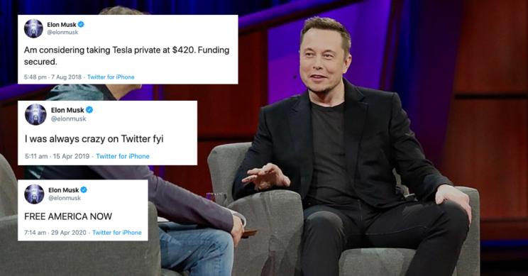 Инвестор Tesla подал всуд наМаска из-за публикаций вTwitter