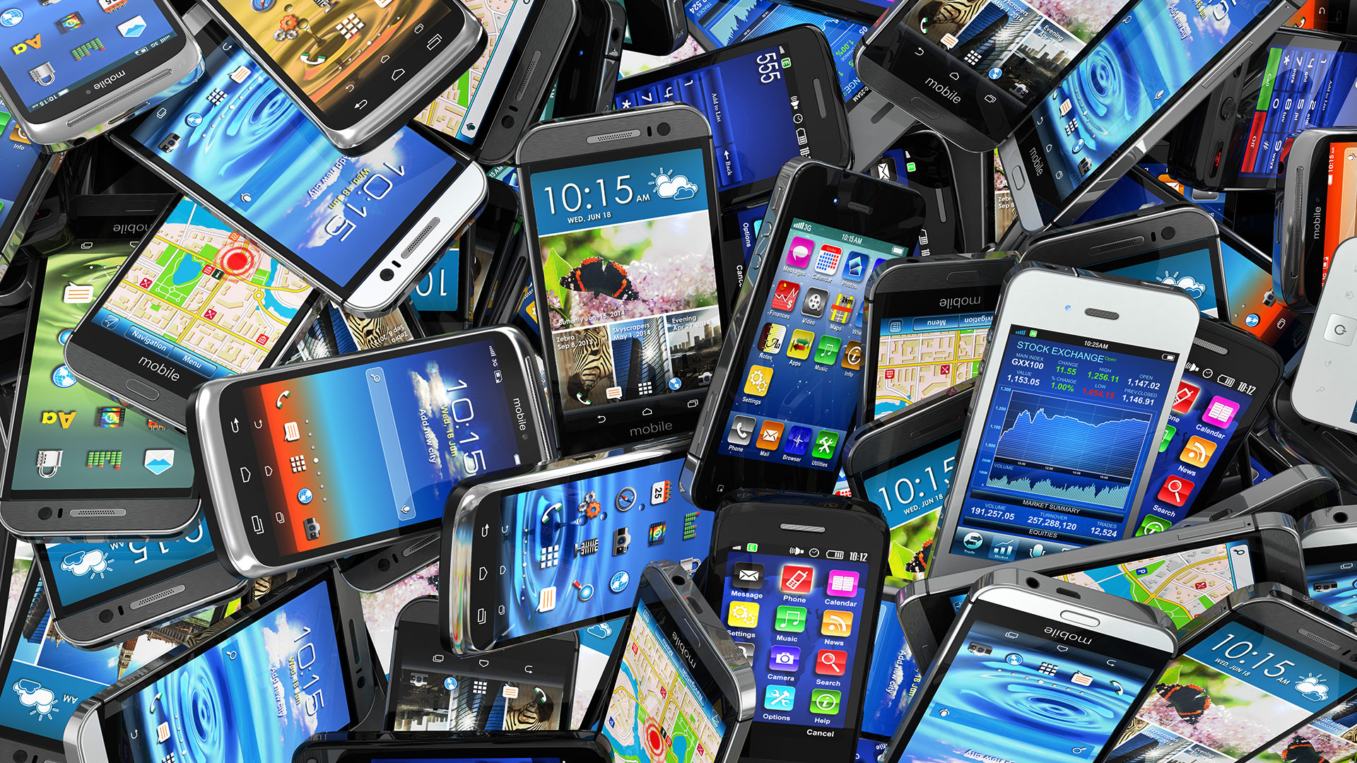 Глобальный рынок смартфонов продолжает сокращаться