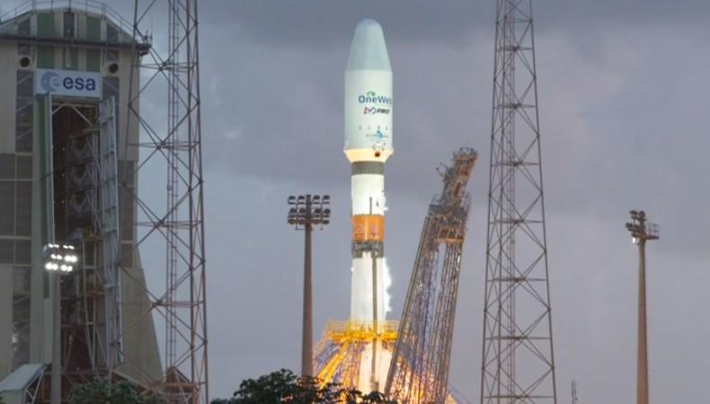 На орбиту выведены первые спутники OneWeb