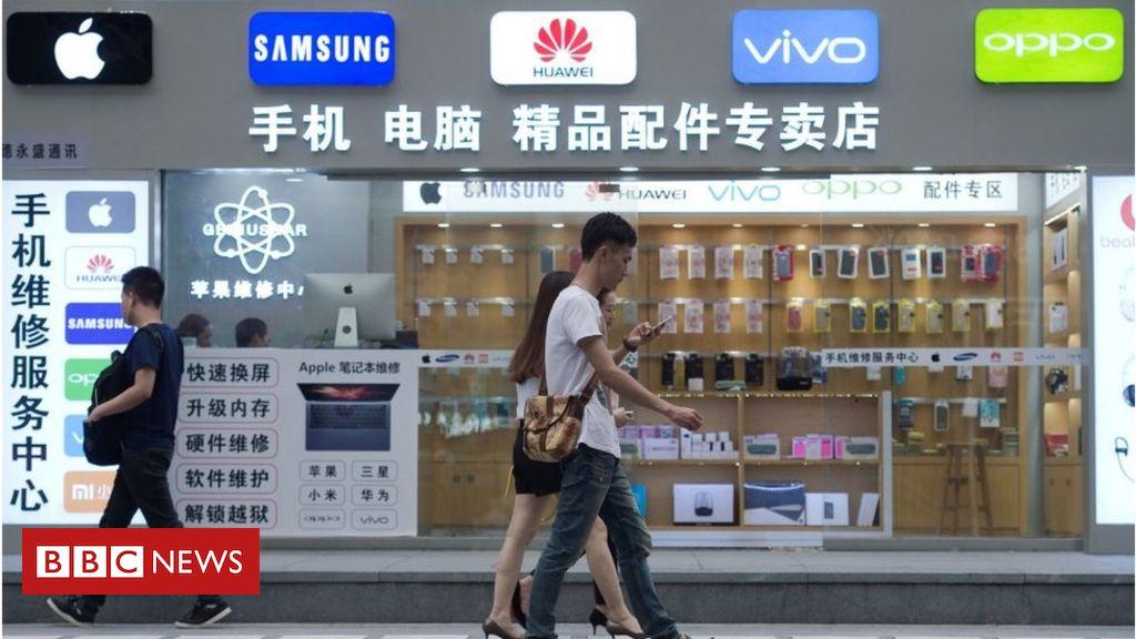 Продажи смартфонов в Китае в апреле выросли на 17%