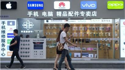 Китайский рынок смартфонов продолжает снижение