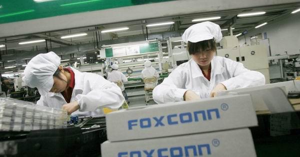 В Китае остановлены заводы Apple и Samsung