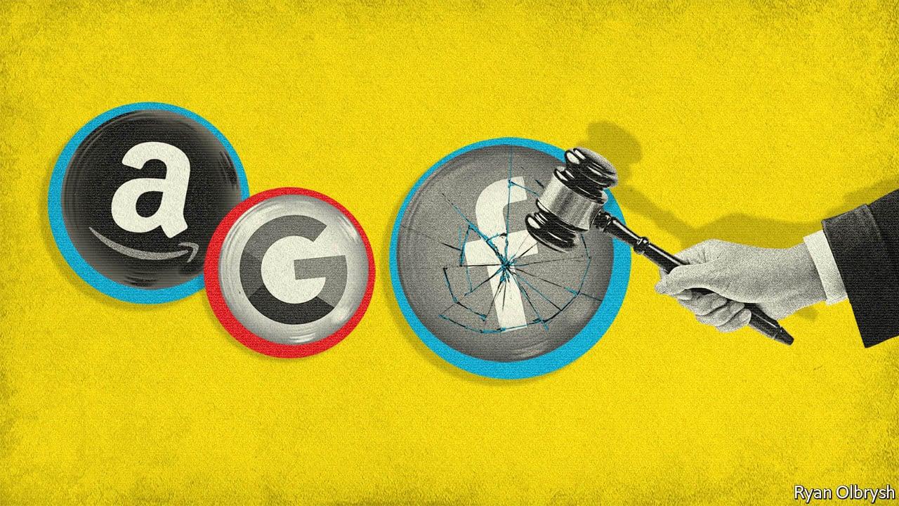 Власти США обвинили Google, Apple, Facebook и Amazon в монополизации рынка и ослаблении демократии