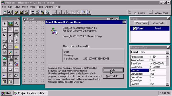 Microsoft прекращает поддержку Visual Basic