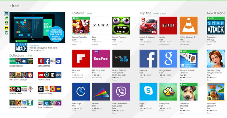 Microsoft снизит комиссию для разработчиков игр вWindows Store до12%