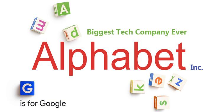 Стоимость родительской компании Google превысила триллион долларов