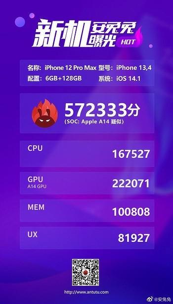 Первый в мире 5-нанометровый процессор Apple A14 не выдерживает конкуренции со старыми чипами