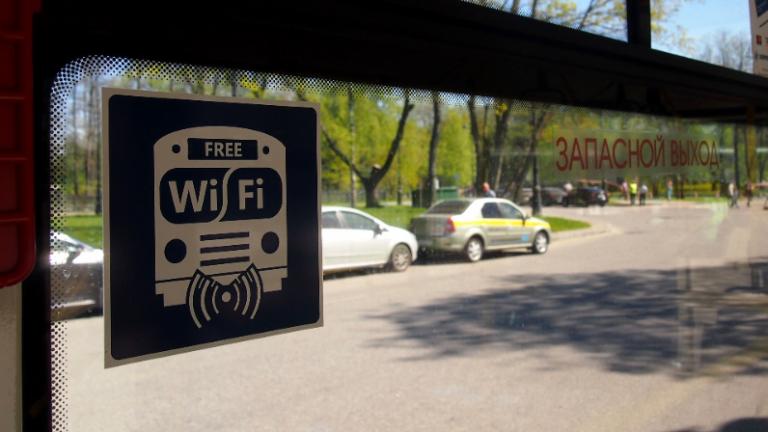 В московский наземный транспорт вернётся бесплатный Wi-Fi