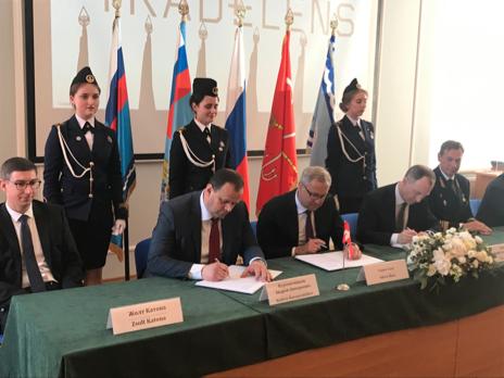 Министерство Транспорта Российской Федерации, ФГУП «Морсвязьспутник» и A. P. Moller-Maersk (Дания) подписали Меморандум о взаимопонимании