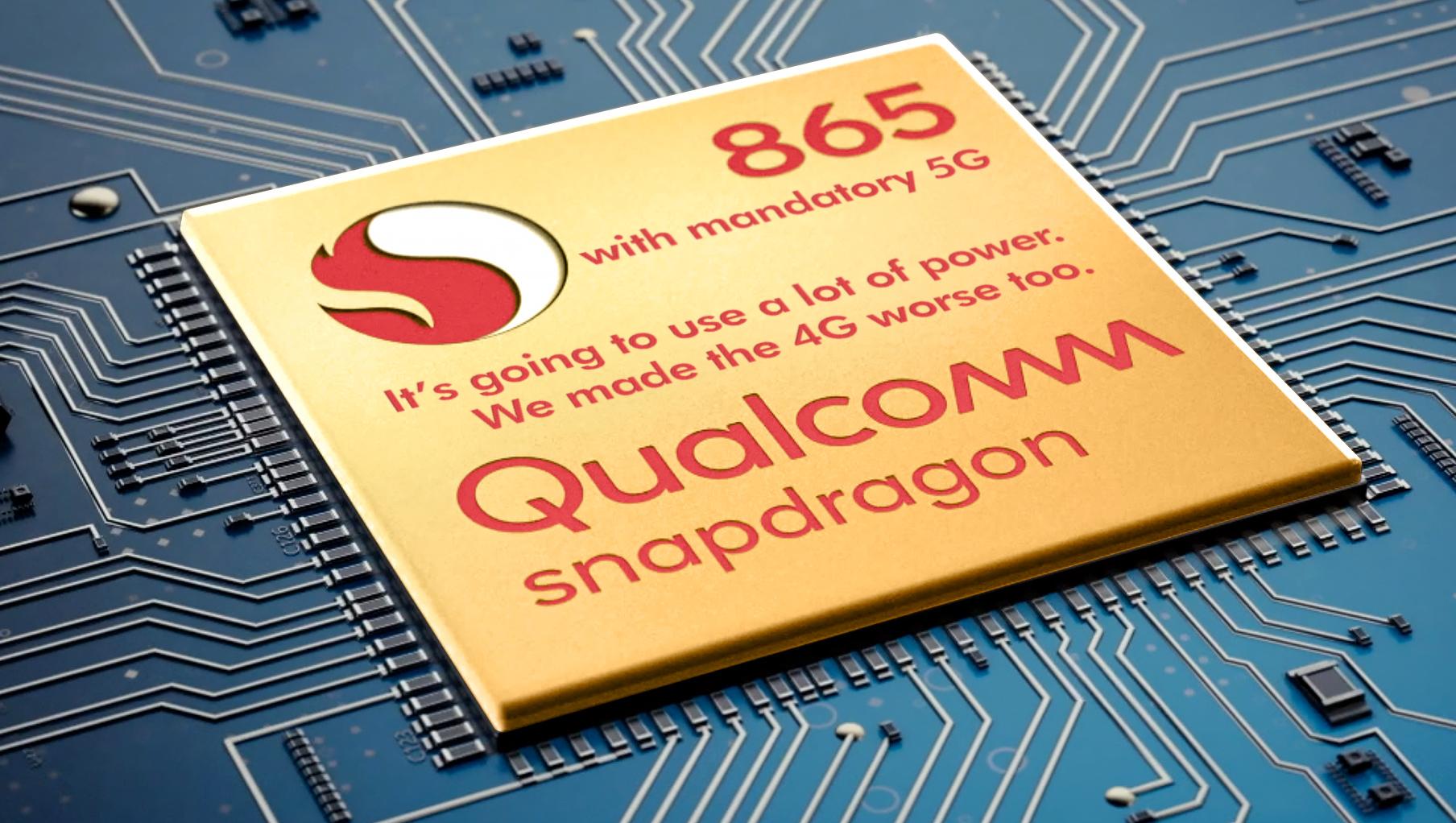 Чип Snapdragon 865 не по душе производителям смартфонов
